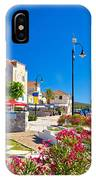 Colorful Adriatic Town Of Rogoznica IPhone Case