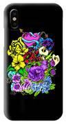 Colorful Art Love Bouquet IPhone Case