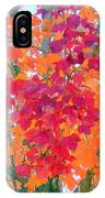 Colorful Autumn Leaves IPhone Case