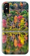 Colorful Autumn Reflections IPhone Case