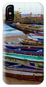 Colorful Boats IPhone Case