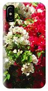 Colorful Bougainvilleas IPhone Case
