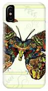 Colorful Butterfly Collage IPhone Case