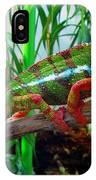 Colorful Chameleon IPhone Case