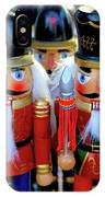 Colorful Christmas Nutcrackers IPhone Case