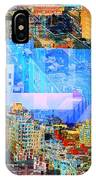 Colorful City Collage IPhone Case