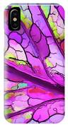 Colorful Coleus Abstract 3 IPhone Case