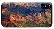 Colorful Colorado Rocky Mountains Planet Art Poster  IPhone Case