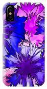 Colorful Cornflowers IPhone Case