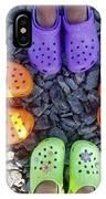 Colorful Crocs IPhone Case