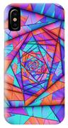 Colorful Cuts Fractal IPhone Case