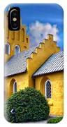 Colorful Danish Church IPhone Case