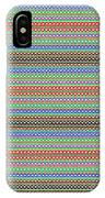 Colorful Dots N Mini Circles In Line Patterns With Background Textures Fineartamerica.com Licensing  IPhone Case