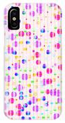 Colorful Dots On Pink IPhone Case