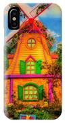 Colorful Fantasy Windmill IPhone Case