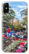 Colorful Festival Along River Walk IPhone Case