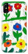 Colorful Garden IPhone Case
