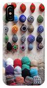 Colorful Hats IPhone Case