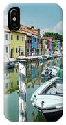 Colorful Homes Of Burano IPhone Case