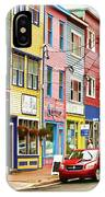Colorful Houses In St Johns In Newfoundland IPhone Case