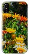 Colorful In The Garden  IPhone Case