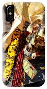 Colorful Indian Corn Decorations IPhone Case