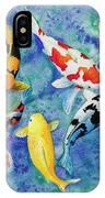 Colorful Koi IPhone Case