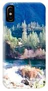 Colorful Landscape IPhone Case