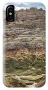 Colorful Layered Mountains  IPhone Case