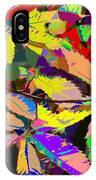 Colorful Leaves IPhone Case