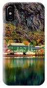 Colorful Lofoten, Norway IPhone Case