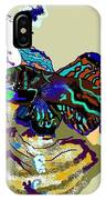 Colorful Manderin Fish IPhone Case