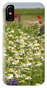Colorful Meadow With Wild Flowers IPhone Case