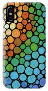 Colorful Mosaic Art - Blissful IPhone Case