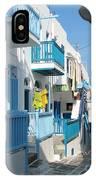 Colorful Mykonos IPhone Case
