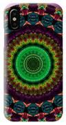 Colorful No. 4 Mandala IPhone Case