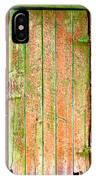 Colorful Old Barn Wood Door IPhone Case