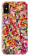 Colorful Organza IPhone Case