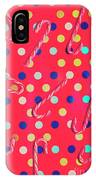 Colorful Pepermint Candy Canes IPhone Case