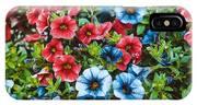 Colorful Petunias 2 IPhone Case