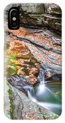 Colorful Pool In The Gorge Of Watkins Glen IPhone Case