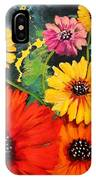 Colorful Poppy Warm No.1 IPhone Case