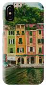 Colorful Portofino IPhone Case