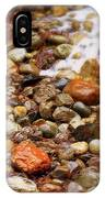 Colorful Rocks With Waterfall IPhone Case