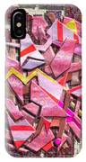 Colorful Scrap Metal IPhone Case