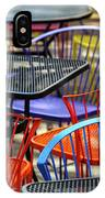 Colorful Seating IPhone Case