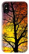 Colorful Silhouette IPhone Case
