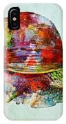 Colorful Snail Art  IPhone Case