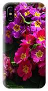 Colorful Spring Primrose By Kaye Menner IPhone Case