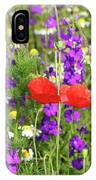Colorful Spring Wild Flowers IPhone Case